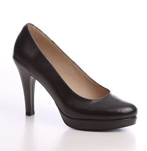 pantofi din piele naturala cu platforma